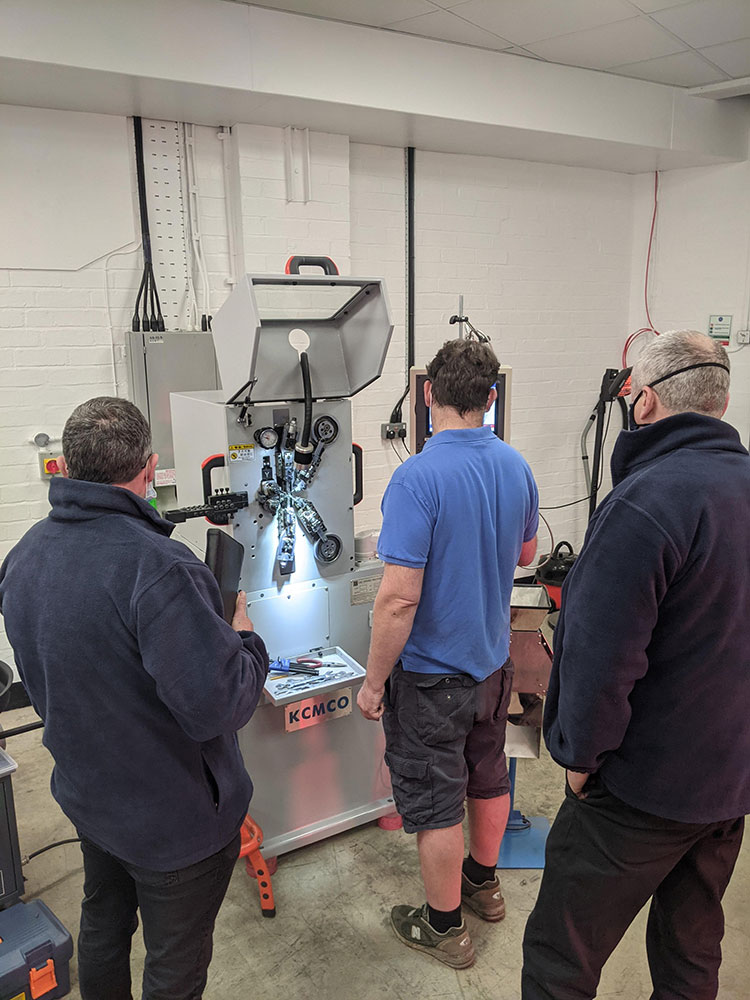Transworld Engineering Showroom testing