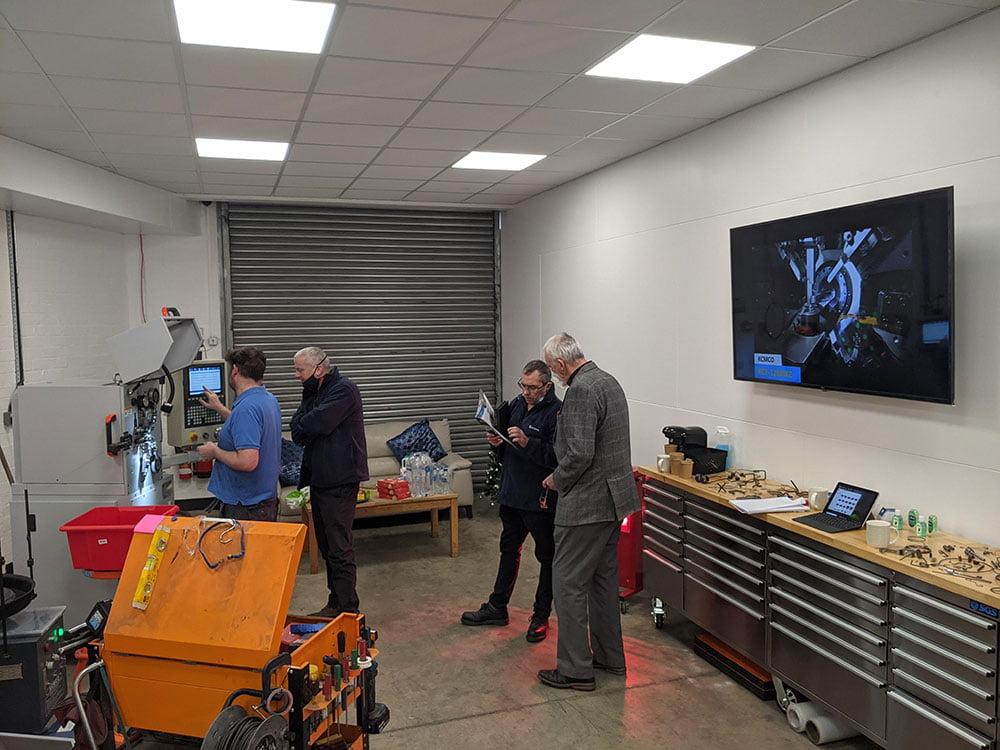 Transworld Engineering Showroom operation